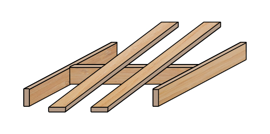 "2x4 ""I"" Beam and Ramp"