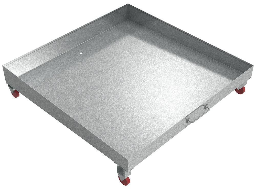 Slanted Drain Pan