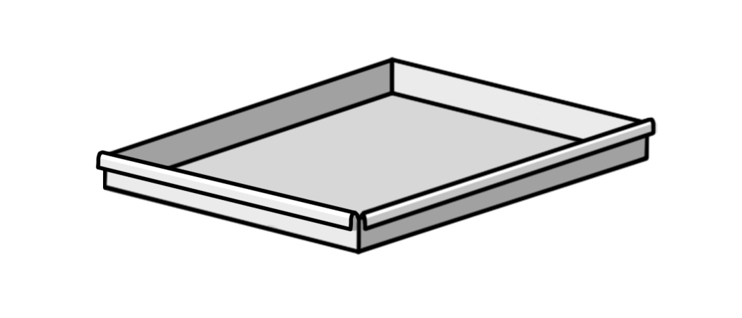 Assembly Pan Rolled Edge