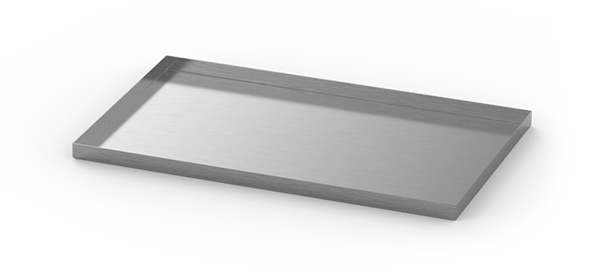 medical grade stainless steel drawer liner