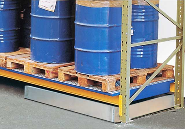 Pallet Rack Spill Containment System