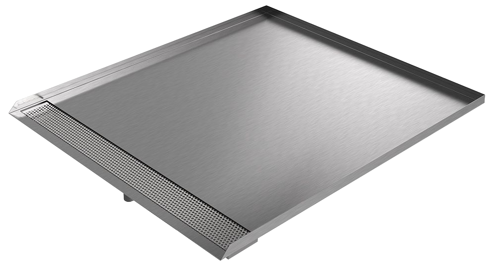 Stainless Steel Front Load Washer Drain Pan | Killarney Metals